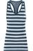 Icebreaker Sprite Ondergoed bovenlijf blauw/wit